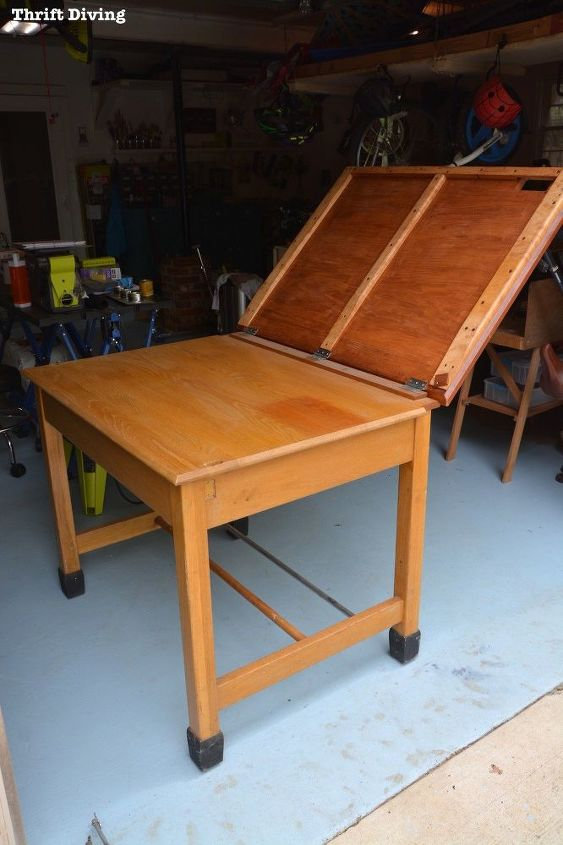 strip furniture a natural wood furniture makeover