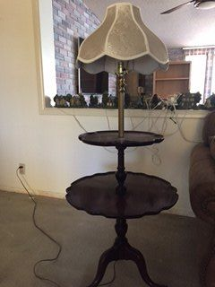 q how to re do this lamp