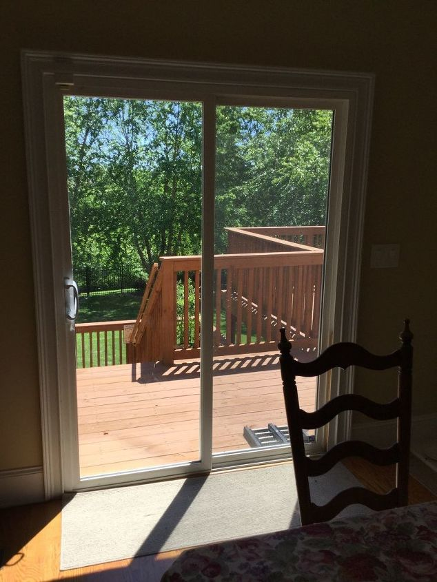 q flexible covering for a patio door ideas