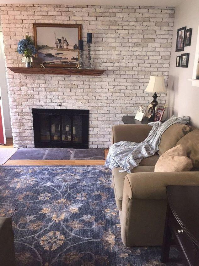 Brick And Brass Fireplace Makeover Hometalk