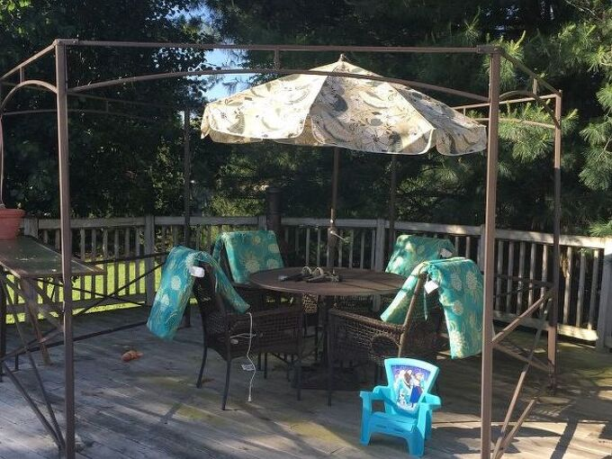 q any ideas how to make my own canopy for my gazebo
