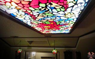 how to make a mosaic glass light