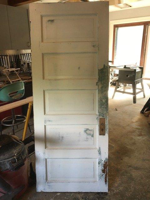 old door to fabulous headboard, The perfect door