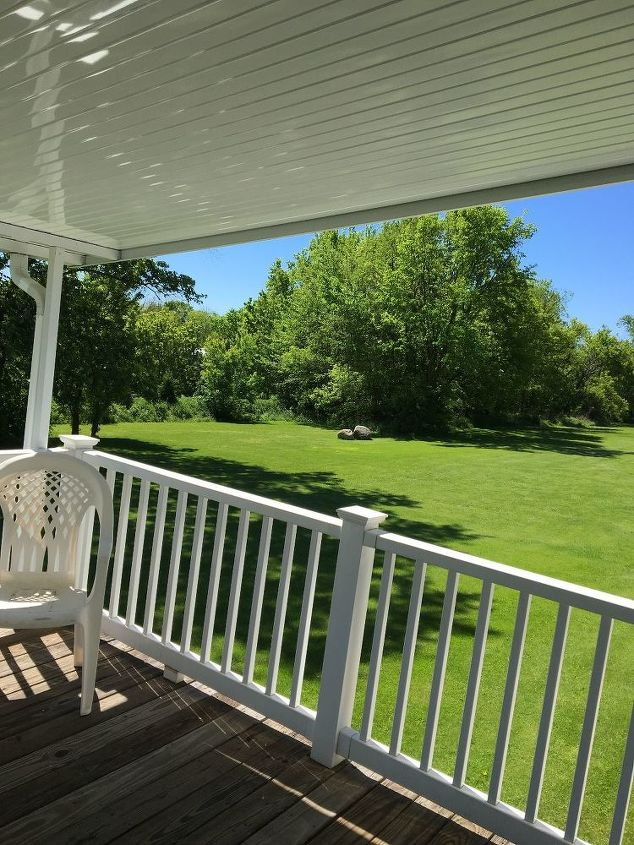q how can i add patio curtains on my deck