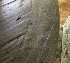 Q Is There A Wax You Can Use To Smooth Out A Rough Barn Board Table