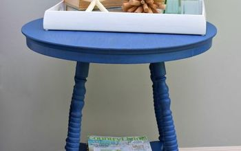 A Garage Sale Table Goes Coastal With OFMP