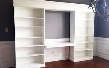 DIY Built-ins With Ikea Billy Bookcases