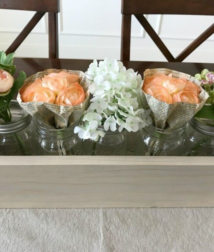 diy this 5 mason jar planter box just 6 50