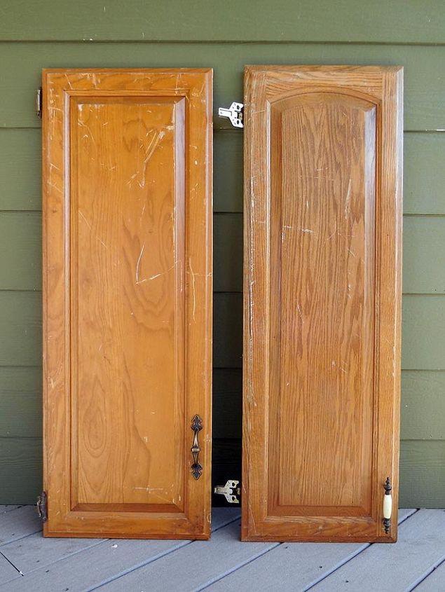 Diy Repurposed Cabinet Doors Hometalk