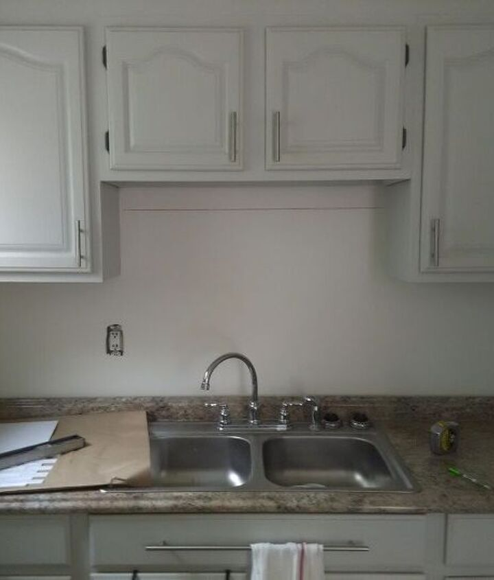 q hi everyone i need some good ideas on what to do with my backsplash
