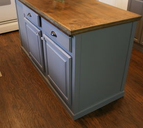 Ordinaire Upcycled Kitchen Island With A Reclaimed Wood Top