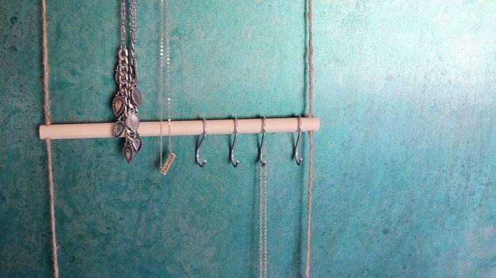 diy dollar store room decor jewelry organizer