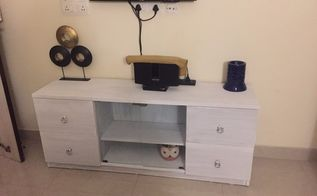 Second Hand To Brand New Tv Cabinet Diy