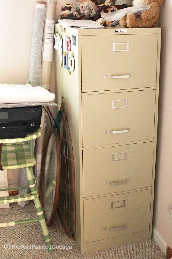 Learn How To Transform An Ordinary File Cabinet Into