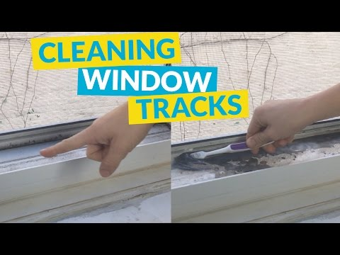 s 11 cleaners from baking soda to make your home sparkling clean, Clean Up Those Window Tracks