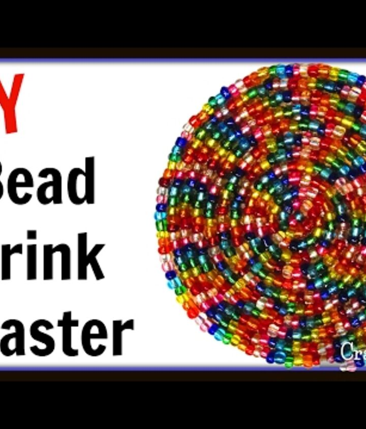 s crafters copy these gift ideas for your friends, For A Little Girl Make A Beaded Coaster