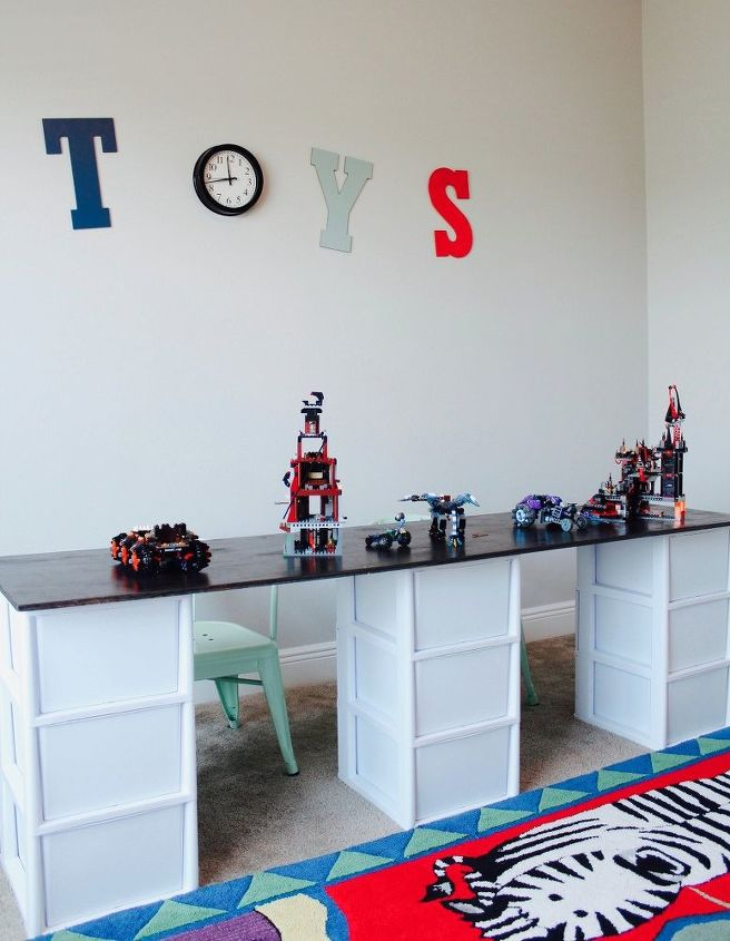 Simple Lego Storage Idea With A Diy Table