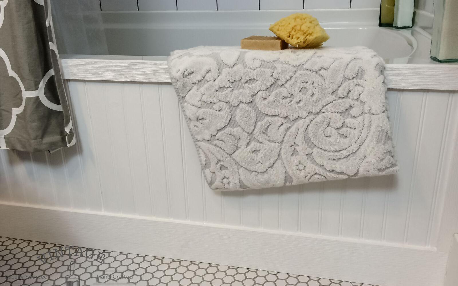 s 11 easy ways to refresh your old bathtub, Build A Custom Frame