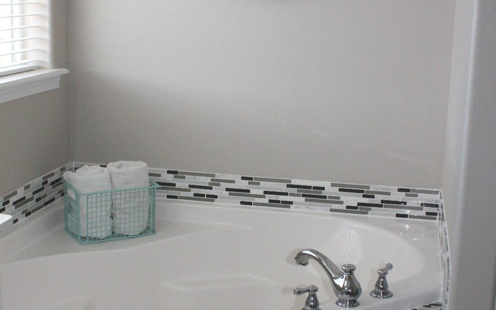 s 11 easy ways to refresh your old bathtub, Design A Beautiful Spa Bath