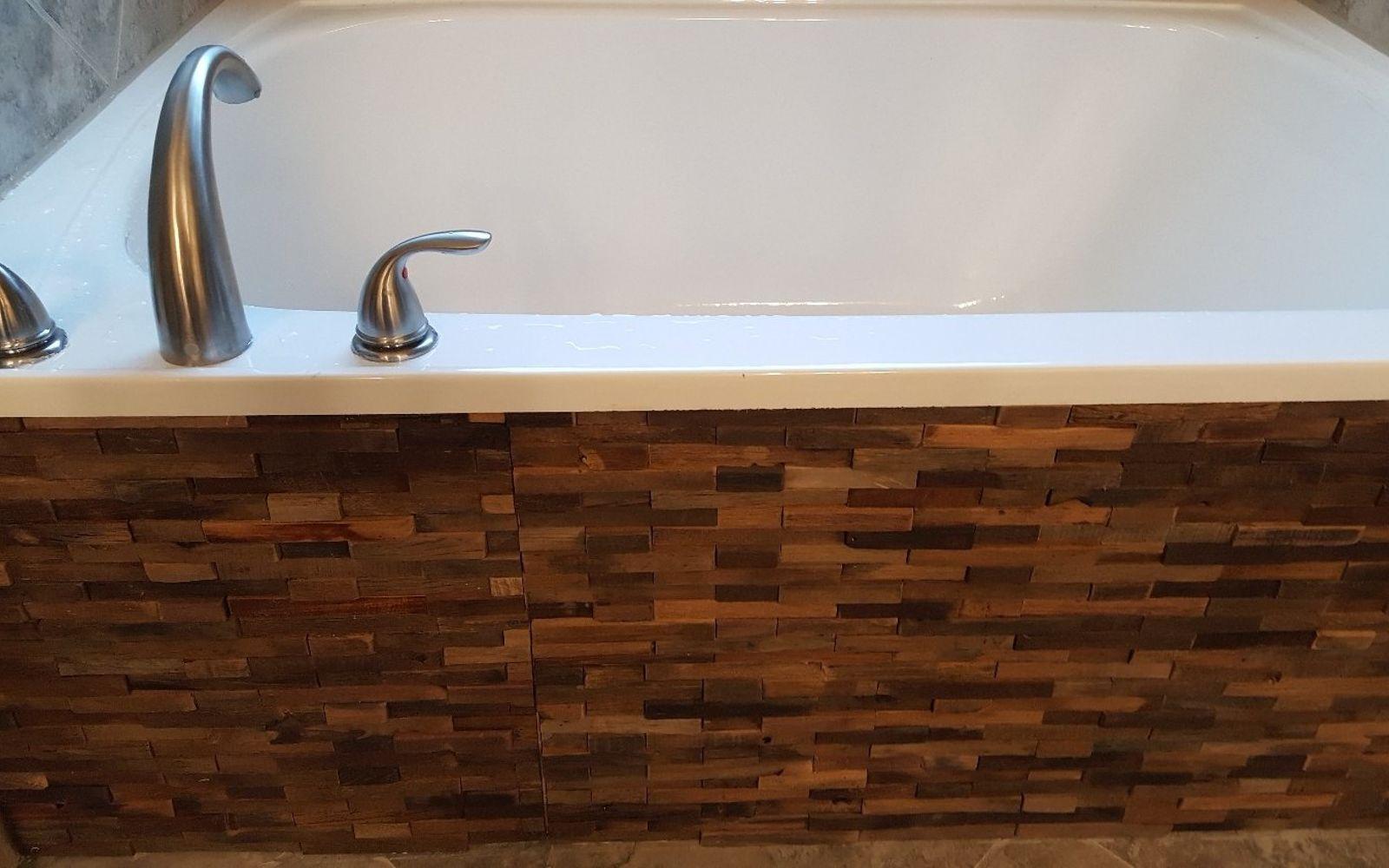 s 11 easy ways to refresh your old bathtub, Revamp The Bathtub