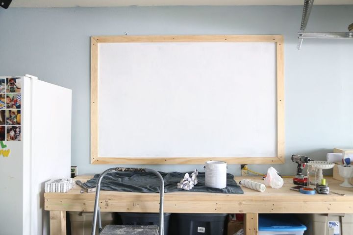 how to create a giant chalkboard