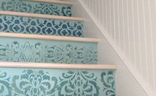 12 diy paint stencil ideas for your stairs