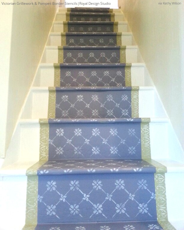 12 Diy Old Pallet Stairs Ideas: 12 DIY Paint & Stencil Ideas For Your Stairs