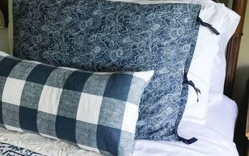 DIY  Pillow Shams For $7!