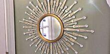 amazing diy using dollar tree mirror and foldable fans