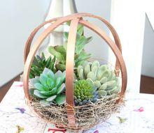 diy embroidery hoop terrarium