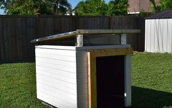 how to make a dog house