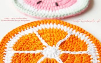 how to crochet fruity potholders