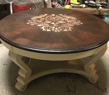 how to update that old plain looking coffee table