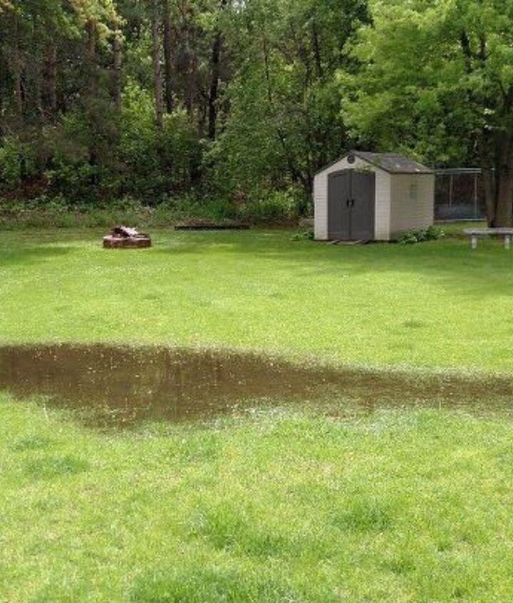q water logged