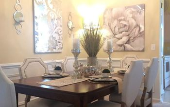 dining room decorating ideas glam traditional