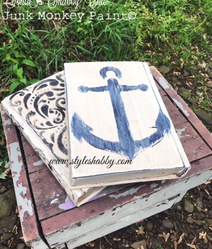 how to upcycle old books into cute home decor