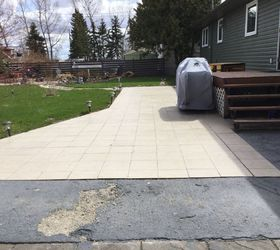 Q What Ideas Are There For Covering An Outside Ceramic Tile Patio