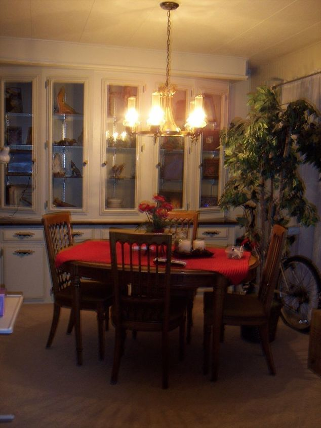 q refinishing an outdated dining room set