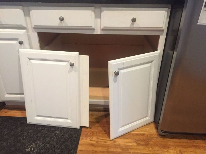i found more storage by replacing my double door base cabinet