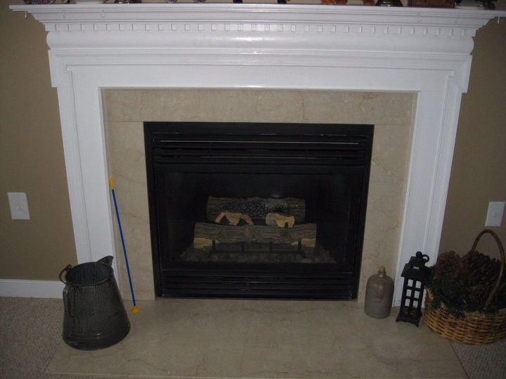 q any suggestions on what i can do to my fireplace