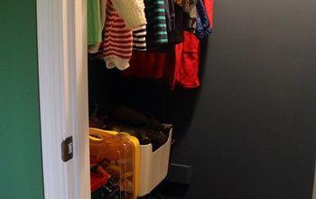 inexpensive custom shelving for a kid s closet