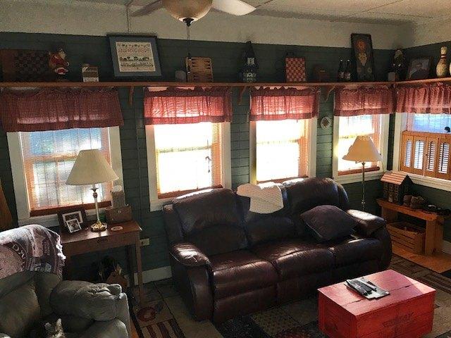 redone sunroom