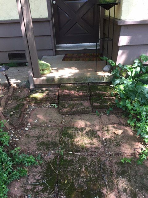 q any suggestions to improve this small porch