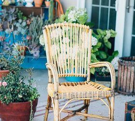 Boho Rewoven Patio Chair
