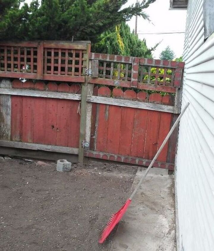 q gate into a barn door