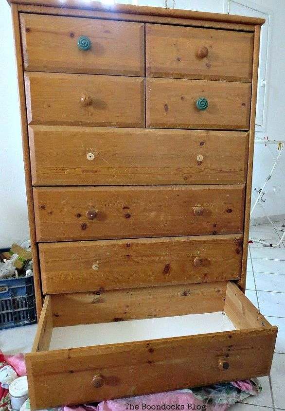 How To Upcycle An Old Ikea Pine Dresser