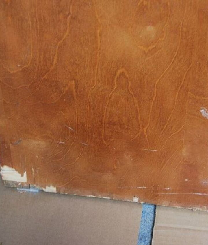s 30 tricks to help you fix the wood in your home, Sand Down Veneers To Repair Damage