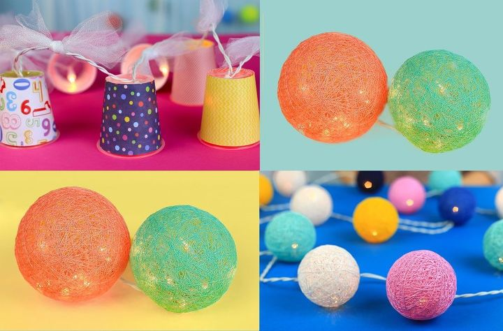 s 10 beautiful projects that use balloons, Design Garlands With Balloons