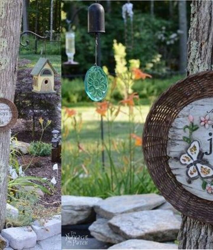 s 30 garden art ideas to fall in love with, Make Garden Plaques With Bamboo Paper