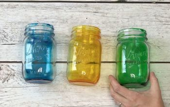 How To Make Tinted Mason Jars